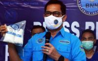 BNN Gagalkan Penyelundupan Sabu Asal Medan
