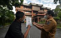 Masuk Kantor Wali Kota Wajib Scan Aplikasi PeduliLindungi