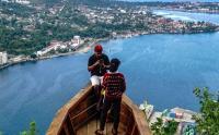 Melihat Panorama Kota Jayapura dari Ketinggian