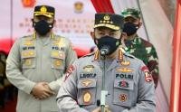 Tinjau Vaksinasi AKABRI 98, Kapolri: Wujud Sinergitas TNI-Polri Tekan Pertumbuhan Covid-19