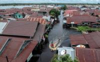 Makin Mengkhawatirkan, Banjir Palangkaraya Meluas Hingga 17 Kelurahan