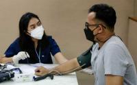 Pemberian Dosis Pertama Vaksin Pfizer Hari Ketiga di Sentra Vaksinasi MNC Peduli