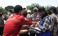 Aksi Tolak Monopoli Tanah Depan Istana Dibubarkan Polisi