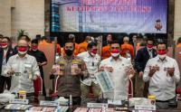 Bareskrim Polri Ungkap Tindak Kejahatan Pengedaran Uang Palsu