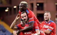 Menang Telak Atas Sampdoria, Napoli Geser Inter di Puncak Klasemen