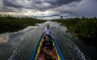 Wisata Religi Datu Kuning, Pengunjung Diajak Susuri Sungai Ratas