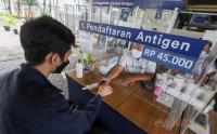 Per Hari Ini Harga Rapid Antigen di Stasiun Hanya Rp45.000