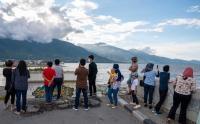 Tiga Tahun Gempa dan Tsunami di Palu, Keluarga Korban Datangi Lokasi Kejadian