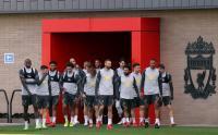 Mo Salah dan Kawan-Kawan Jalani Sesi Latihan Jelang Tanding Melawan FC Porto