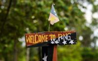 Papan Kayu Ini Jadi Tanda Perbatasan Indonesia-Papua New Guinea