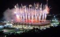 Meriahnya Pesta Kembang Api Penutupan PON Papua di Stadion Lukas Enembe
