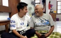 Momen Baim Wong Akhirnya Bertemu dengan Kakek Suhud