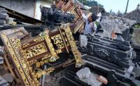 Bali Diguncang Gempa, Tempat Ibadah Hancur