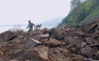 Gempa Bali Sebabkan Bukit Longsor di Kintamani