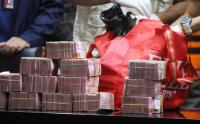 Ini Tumpukkan Uang Milyaran Rupiah Hasil OTT Bupati Muba