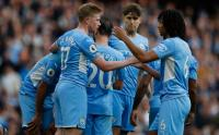 Hasil Manchester City vs Burnley, The Citizens Bungkam The Clarets 2-0