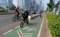 Warga Berolahraga Sepeda Wajib dengan Protokol Kesehatan Ketat