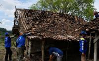 Puting Beliung Terjang Madiun, Tiga Rumah Warga Roboh