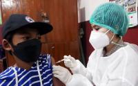 Jelang PTM Siswa Sekolah Dasar Ikuti Vaksinasi Covid-19