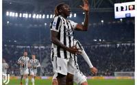 Moise Kean Pahlawan untuk Juventus