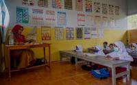 PTM Perdana Sekolah Darurat Bencana di Kota Palu