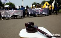 Mahasiswa Gelar Aksi Peringata Dua Tahun Pemerintahan Jokowi-Maruf Amin