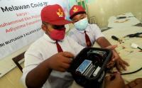 Cegah Covid-19, Dua Siswa Sekolah Dasar Ini Ciptakan Alat Penyaring Udara