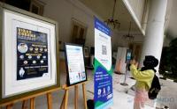 Meski Telah Dibuka untuk Umum, Perpusnas Tetap Wajibkan Pengunjung Scan Barcode PeduliLindungi