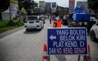 Perpanjangan Ganjil Genap di Lima Gerbang Tol Kota Bandung