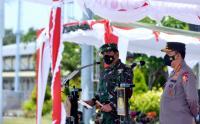 Apel Pasukan Persiapan Kedatangan Wisatawan Mancanegara di Bandara Ngurah Rai