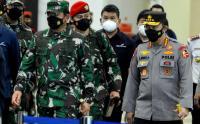 Panglima TNI dan Kapolri Tinjau Kesiapan Bandara Bali Melayani Penerbangan Internasional