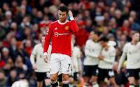 Reaksi Ronaldo Usai Man United Dibantai Liverpool 5-0