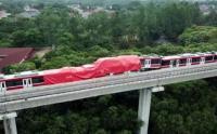 Gerbong Kereta LRT yang Rusak Akibat Kecelakaan Akan Diperbaiki di Inka Madiun