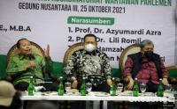 Diskusi Bedah Buku Catatan dari Senayan 2: Relasi Islam dan Negara, Perjalanan Indonesia
