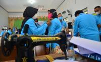 Puluhan Disabilitas Ikuti Keterampilan Kewirausahaan Seperti Memasak dan Menjahit
