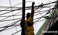 Penertiban Kabel Semrawut di Kawasan Jakarta Selatan