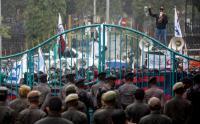 Buruh Kota Bogor Turun ke Jalan Tuntut Kenaikan UMP