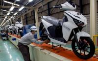 Melihat Proses Perakitan Motor Listrik Gesits Hasil Karya Anak Bangsa