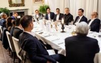 Menko Luhut Bersama Kadin Bertemu Tony Blair Bahas Perubahan Iklim, KTT G202 dan Ibu Kota Baru