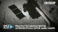 Detik-Detik Pesawat Hayabusa2 Sentuh Asteroid Ryuga untuk Ambil Sampel