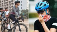 Demam Bersepeda, Luna Maya Gowes hingga Bintaro