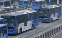 Pemberlakuan Ganjil-Genap Penumpang Transjakarta Meningkat