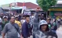 Ricuh, Eksekusi Lahan di Tangerang Dihadang Massa Bersenjata