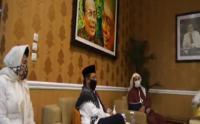 Syekh Ali Jaber Kunjungi Mahfud MD