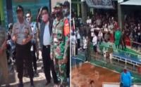 Viral Video Polisi Bubarkan Paksa Turnamen Voli di Brebes