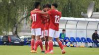 Timnas Indonesia U-19 Taklukkan Dinamo Zagreb