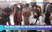 Polisi Razia Tempat Kos yang Menjadi Peredaran Narkoba di Tangerang Selatan