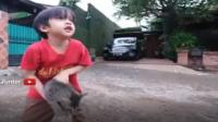 Momen Haru Anak Irfan Hakim Melepas Kucing Kesayangan
