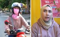 Wanita Ojek Laris Manis di Kota Baubau