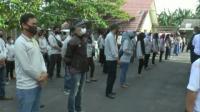 1.322 Petugas Pengawas Pemilu di Oku Selatan Jalani Rapid Test